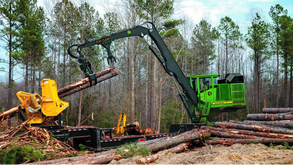 Updated 2019 337E and 437E knuckleboom loaders feature up to an eight percent boost in fuel economy.