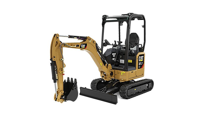 Caterpillar Inc. - 301.7 CR Compact Excavators