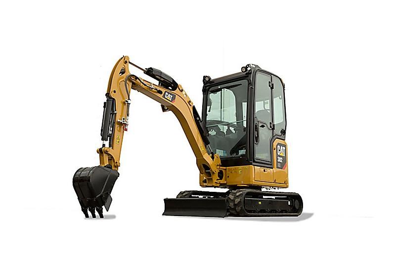 Caterpillar Inc. - 302 CR Compact Excavators
