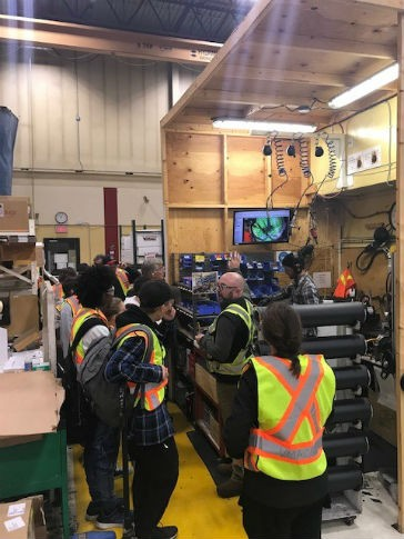 VMAC welcomes Dover Bay high school students for Manufacturing Month