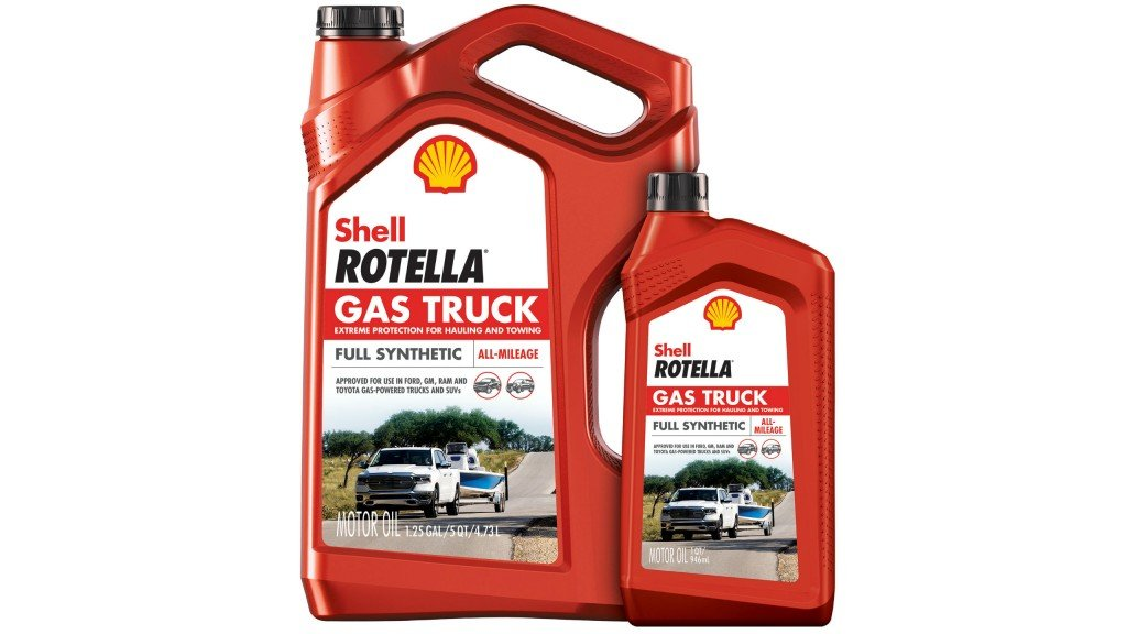 Shell Rotella engine oil for gasoline trucks and SUVs is specially formulated to meet the needs of gas-powered vehicles.