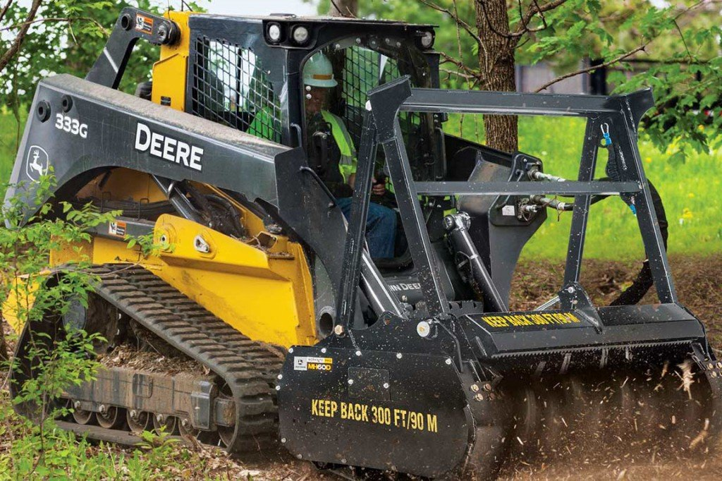 John Deere Construction & Forestry - MH60D Mulchers
