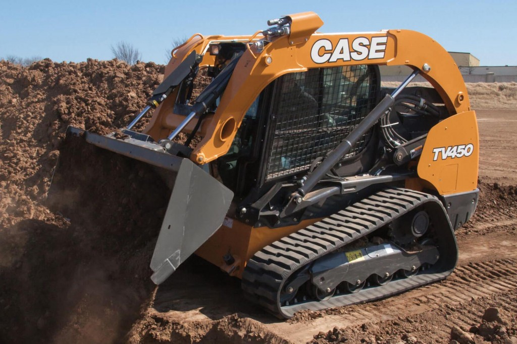 Case Construction Equipment - TV450 Compact Track Loaders