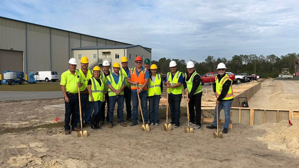 Sierra breaks ground at Georgia manufacturing facility on 24,000-square-foot expansion
