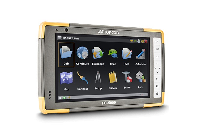 Topcon Positioning Systems - FC-5000 Field Controllers