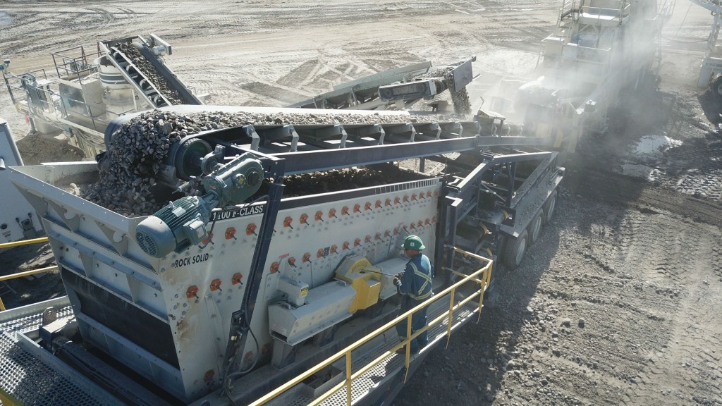 The new Tyler F-class portable plant is designed to improve setup time and increase equipment longevity.