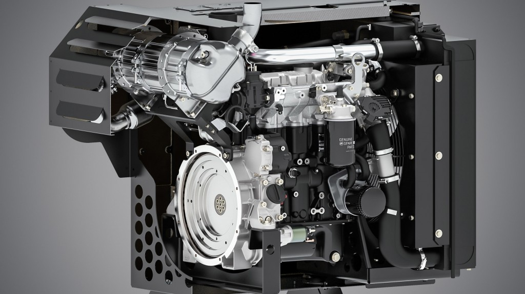 The modular New Silent Pack for the H-series engines from Hatz reduces noise emissions, offers optimum protection and requires minimum installation space.