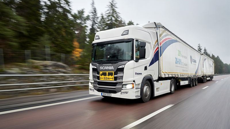 Scania Transport Laboratory goes fossil-free