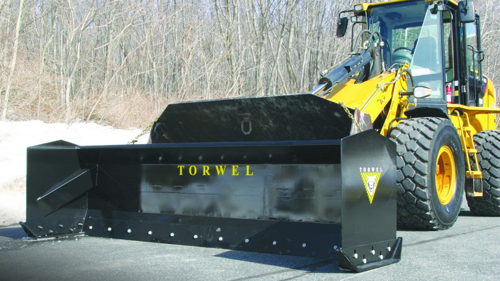 Torwel snow pushers are rugged and capable.