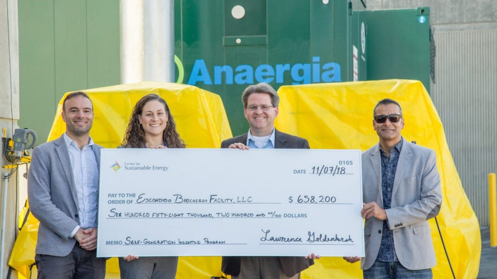 Anaergia officially opens latest CHP System generating renewable energy