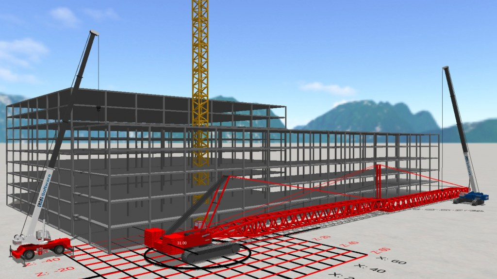 New features expand the options for users as they plan which type of crane pads or mats are best for the ground conditions. Ground bearing calculations can now be made for steel mats with an option for layering steel mats over timber for better distribution of outrigger loads.