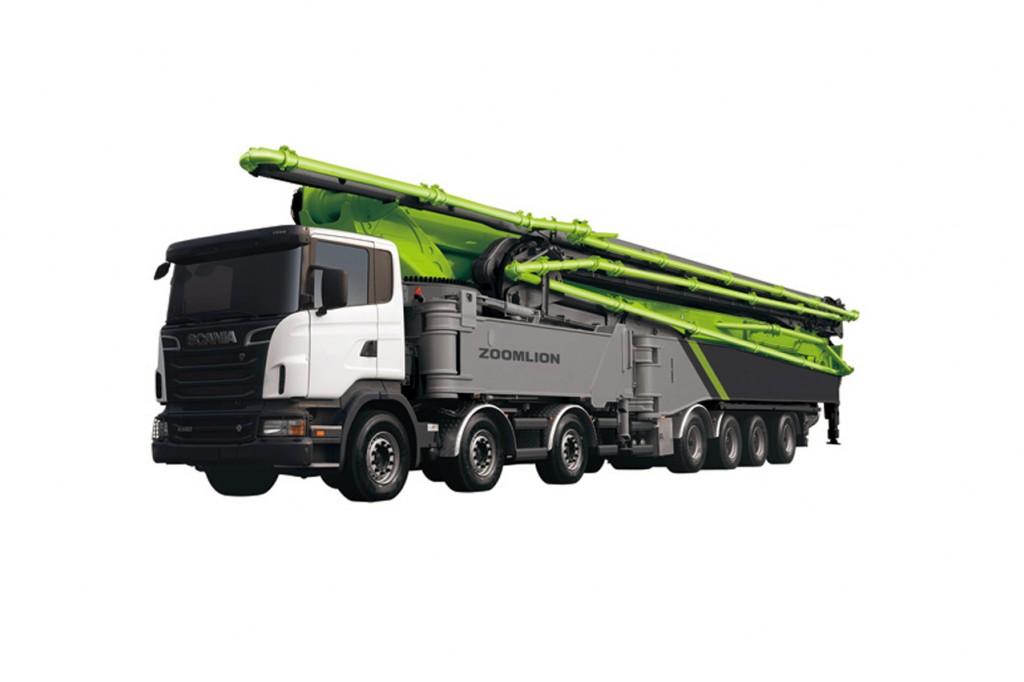 Zoomlion - 56X-6RZ Concrete Pump Trucks