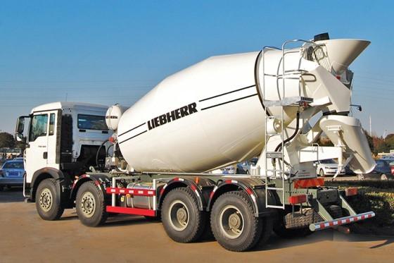 Liebherr Canada - HTM 804 Qing Concrete Mixer Trucks