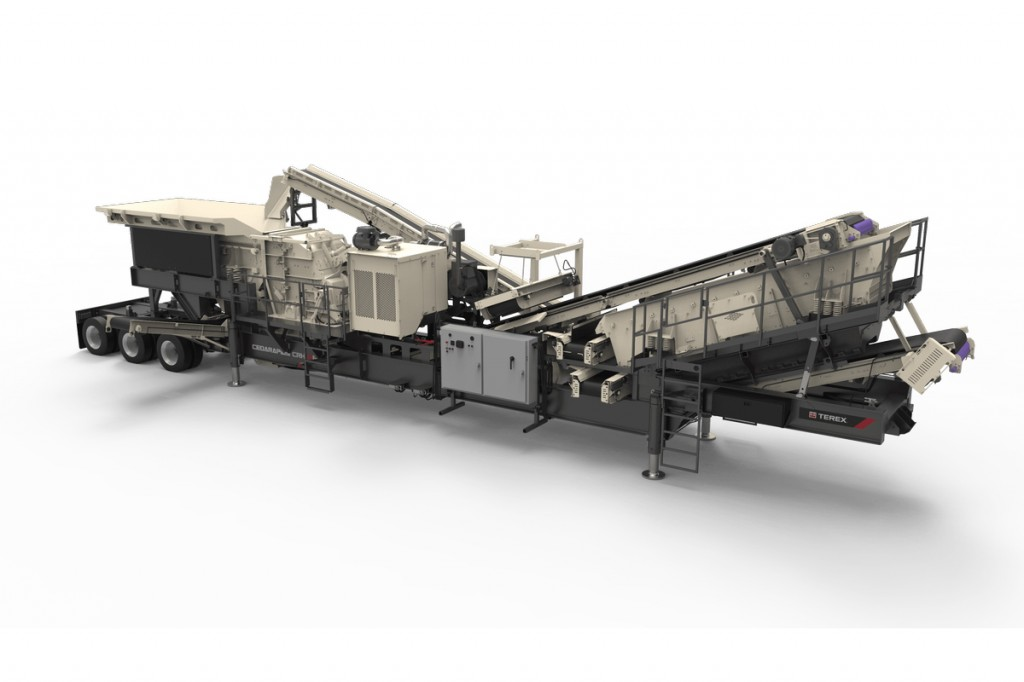 Terex Minerals Processing Systems - CRH1111R Crushing Plants