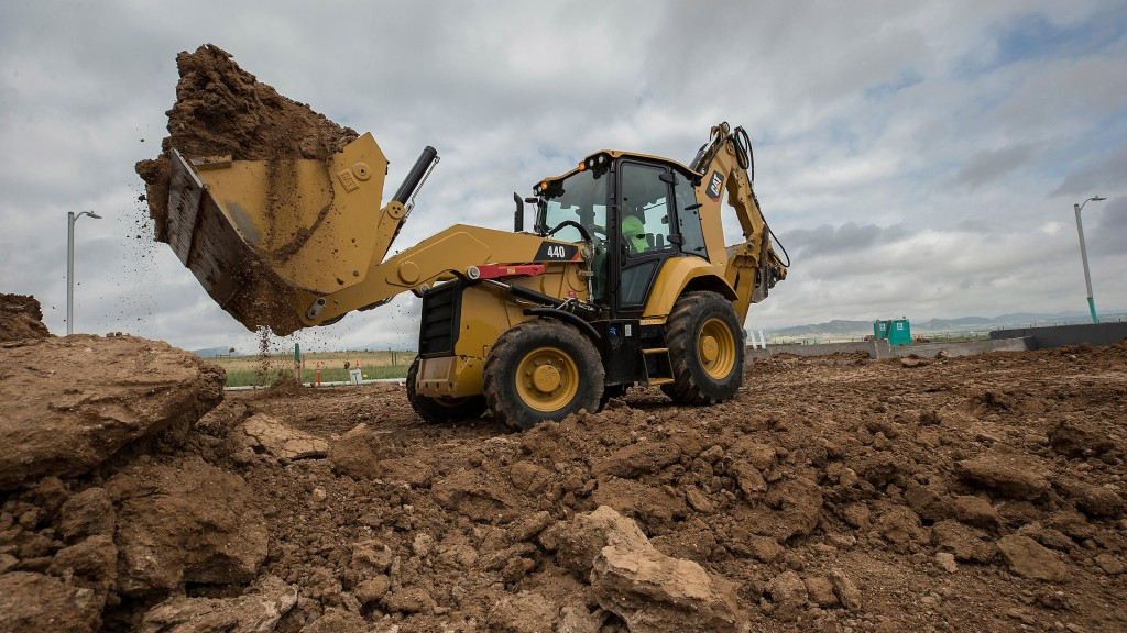 New Cat backhoe loaders feature seat-mounted controls - Heavy