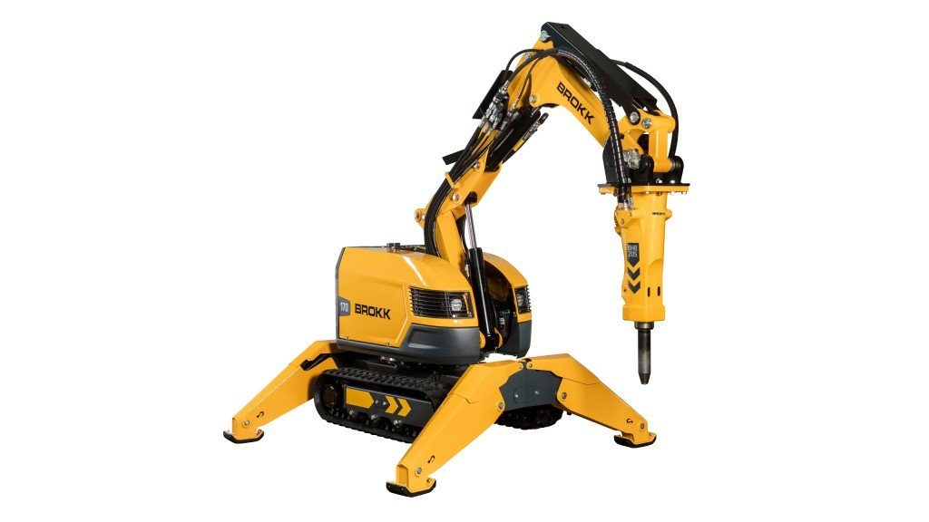 ​New Brokk 170 offers 15 percent more power while retaining compact build