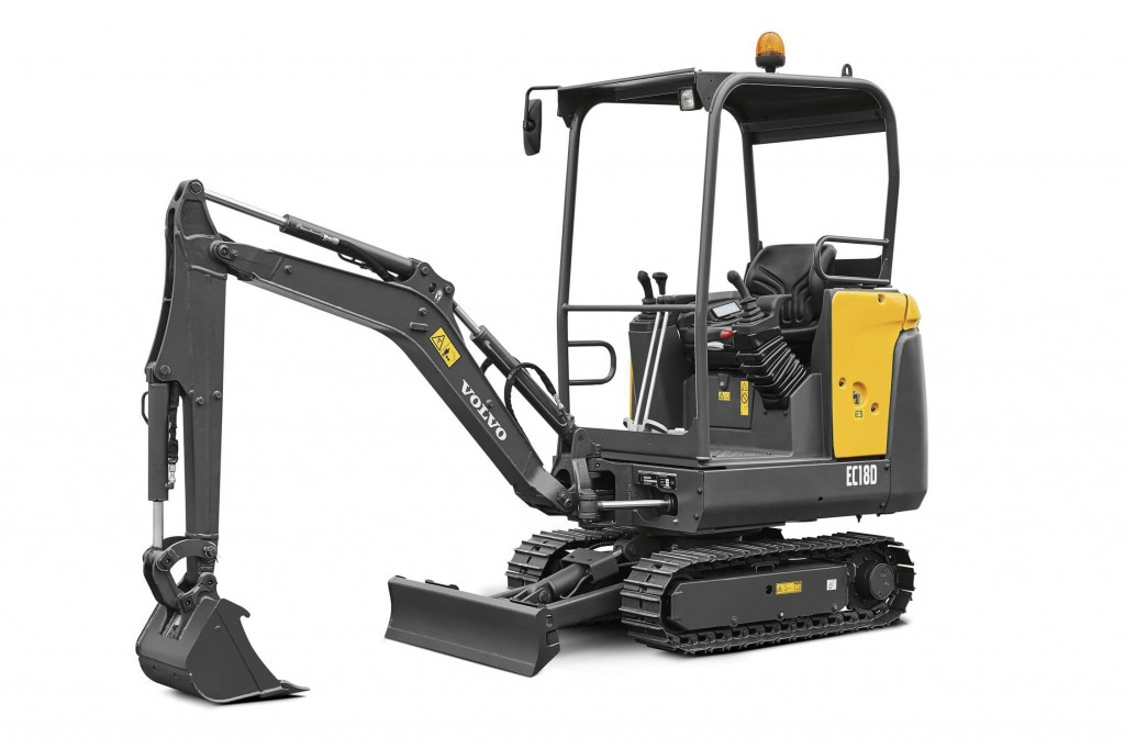 Volvo Construction Equipment - EC18D Compact Excavators