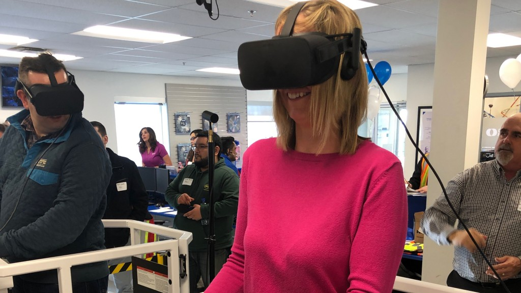 Serious Labs provides VR simulation for United Rentals training centres