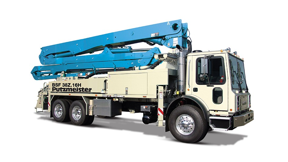 Putzmeister America Inc. - 38Z-meter Concrete Pump Trucks