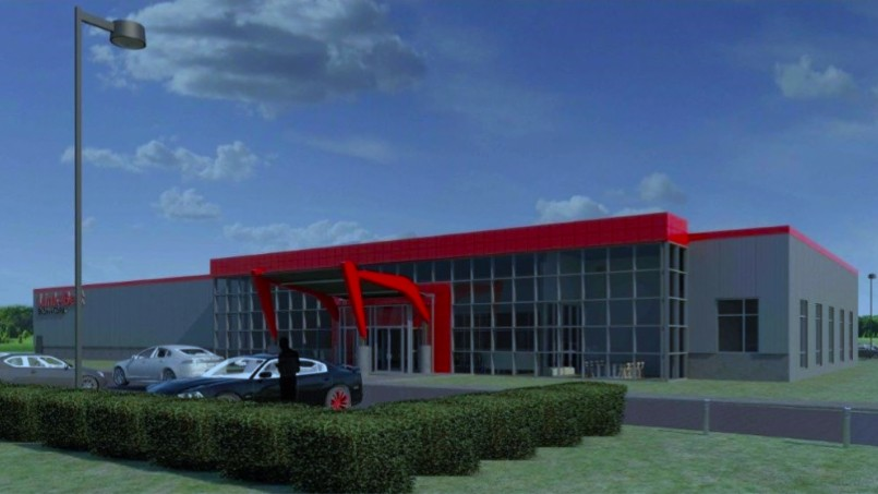 The new facility will be located on Remington Way in the Citation Business Park. It will be used for product demonstrations as well as sales and service training related to the company's products.