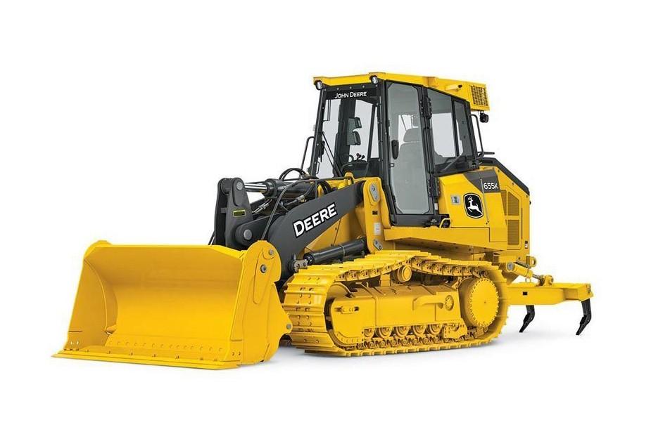 John Deere Construction & Forestry - 655K Crawler Loaders