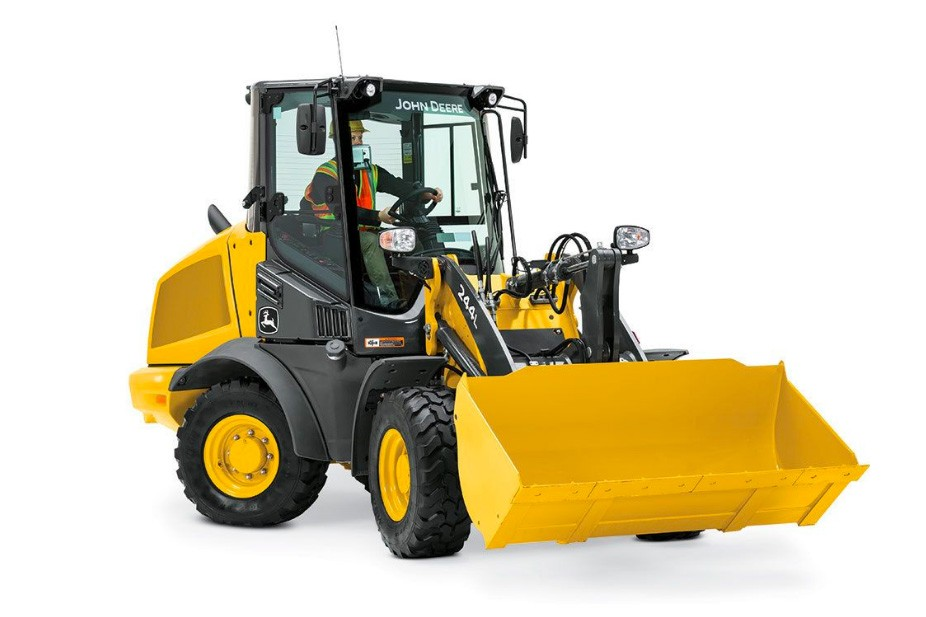 John Deere Construction & Forestry - 244L Compact Wheel Loaders