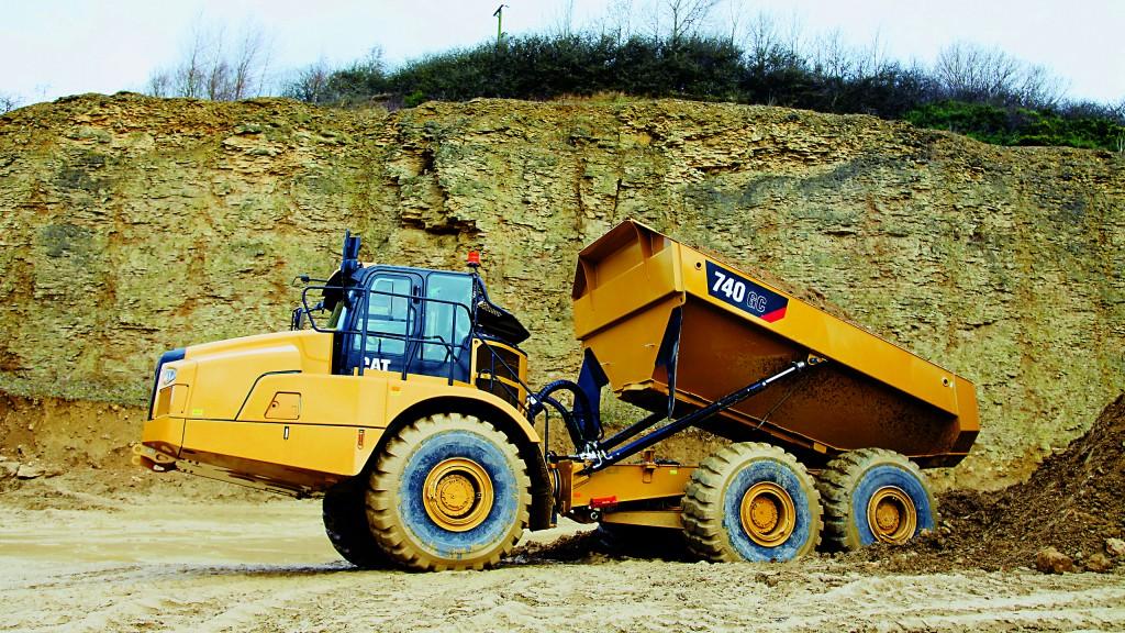 Cat reintroduces  a 40-ton-class ADT