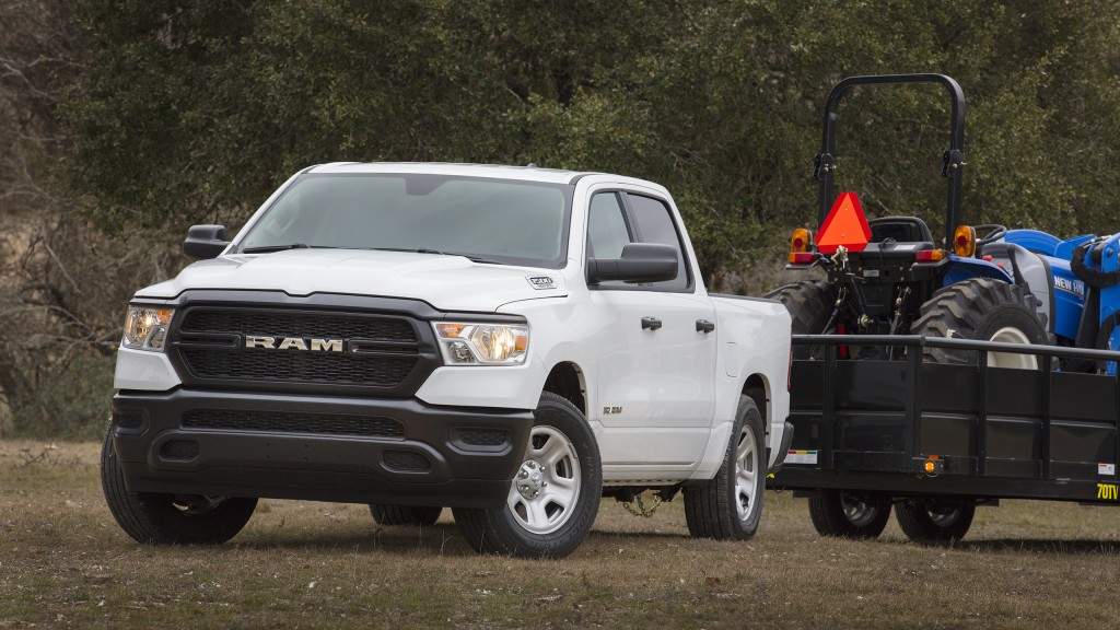 Ram's 1500 Tradesman model