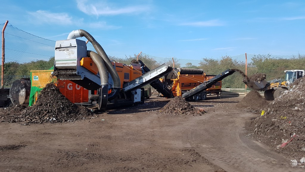 The Airflex 1500 from Doppstadt: a wind sifter that gives the composting industry a technical solution that minimizes  volume losses.