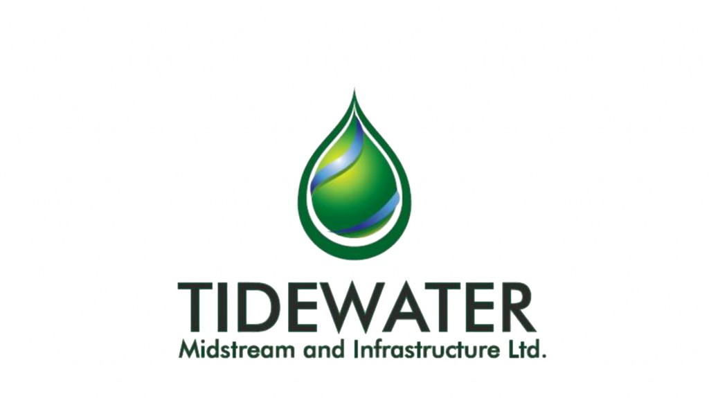 Tidewater announces TransAlta ownership interest in Pioneer pipeline