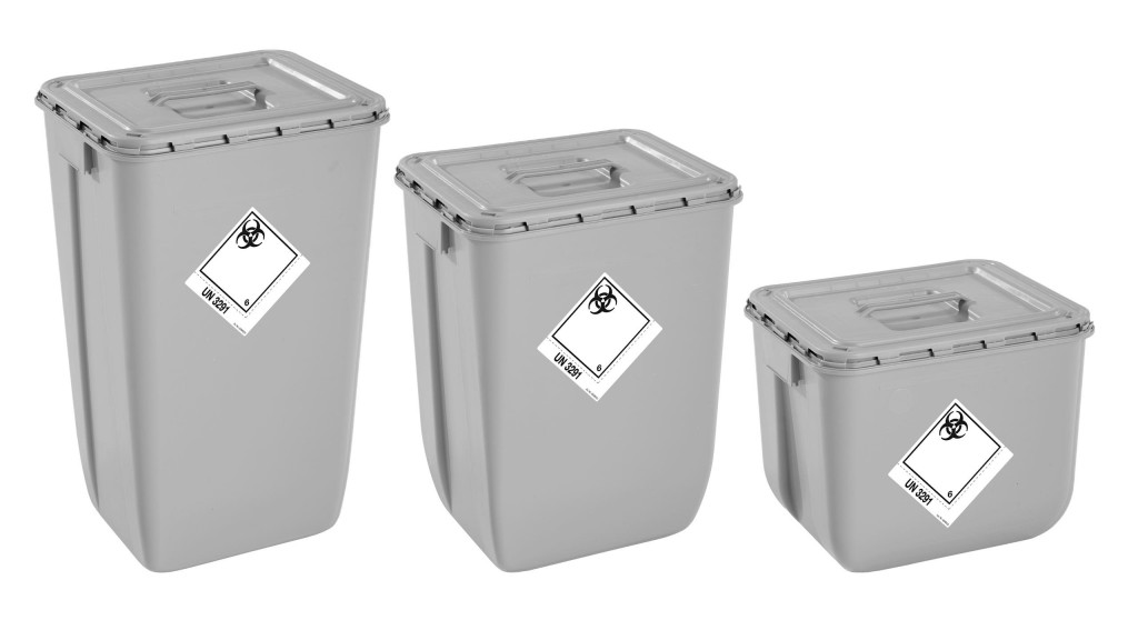 ​Mauser Packaging Solutions introduces first medical waste container made of 100% recycled material