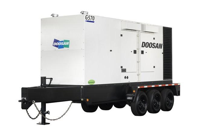 Doosan Portable Power - G570WCU-2C-T2 Generators
