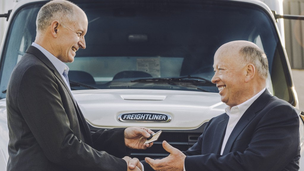 The introduction of the eM2 into Penske's fleet is also a first in DTNA's co-creation approach with customers as it co-develops technology to shape the future of transportation.