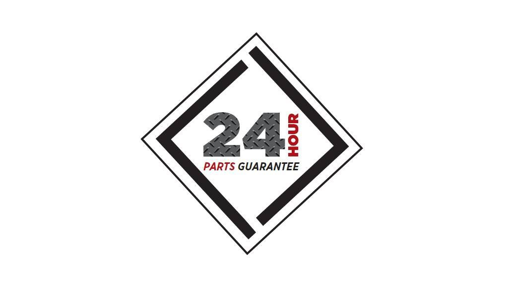 To take the worry out of downtime, Dynapac North America now guarantees parts delivery within 24-hours, to help get you back to work faster.