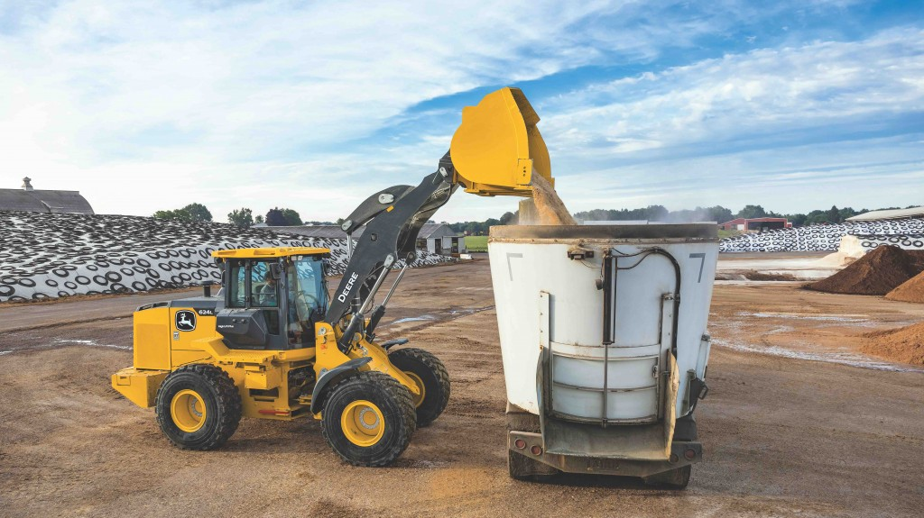 """Our next generation of wheel loaders improves upon the legacy of the John Deere wheel loader line,"" said Chris Cline, product marketing manager for utility wheel loaders, John Deere Construction & Forestry."