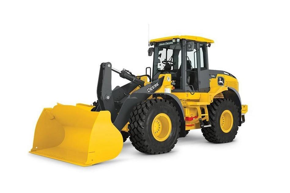 John Deere Construction & Forestry - 524L Wheel Loaders