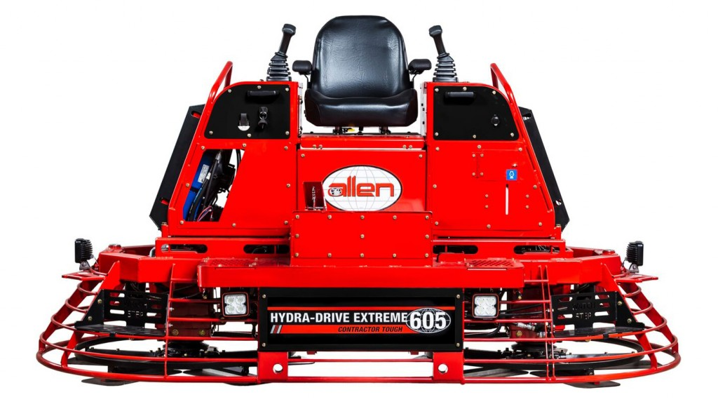 Come see the HDX605 alongside the rest of the Allen product line at the World of Concrete in Las Vegas, NV at Booth O31744 from January 22-25, 2019.