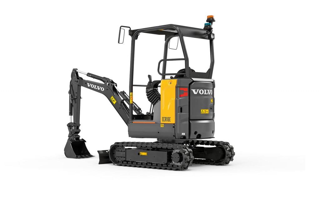 Volvo Construction Equipment - ECR18E Compact Excavators