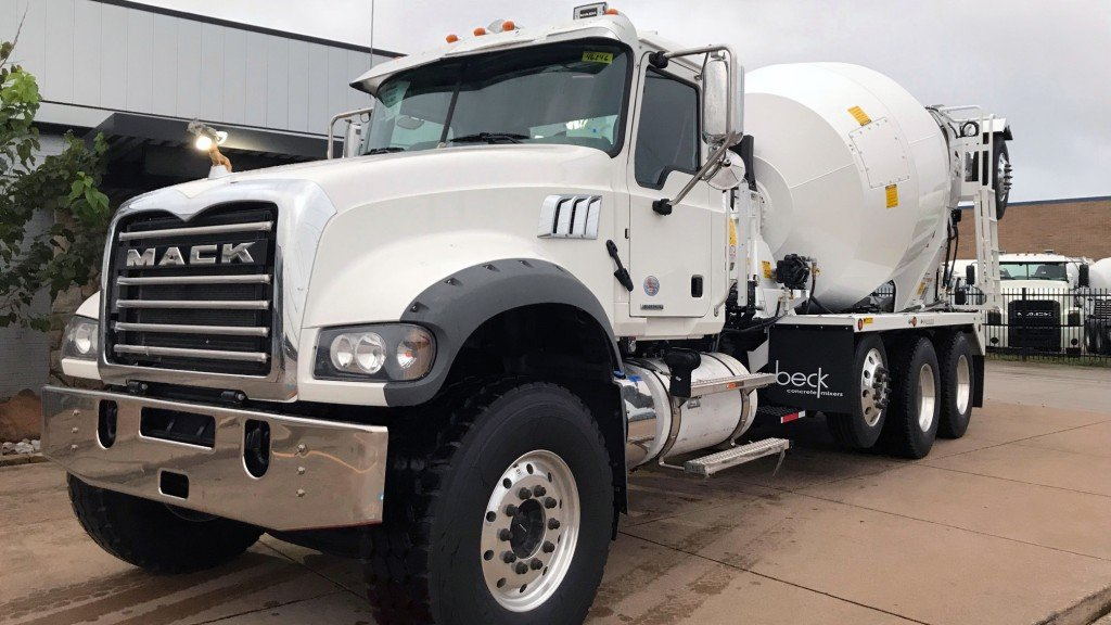 Mack Trucks donated a 2019 Mack® Granite® model to the Concrete Industry Management (CIM) Auction, which will be Wednesday, Jan. 23 during World of Concrete 2019. All proceeds from the auction will benefit the CIM program's mission to develop the next generation of leaders within the concrete industry.