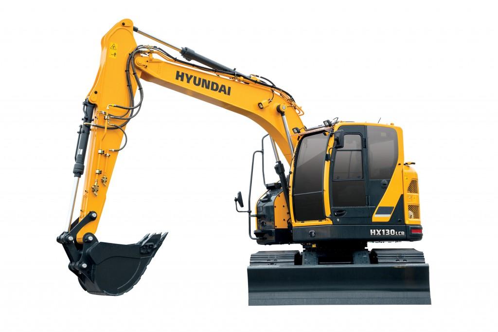 Hyundai Construction Equipment Americas Inc. - HX130LCR Excavators
