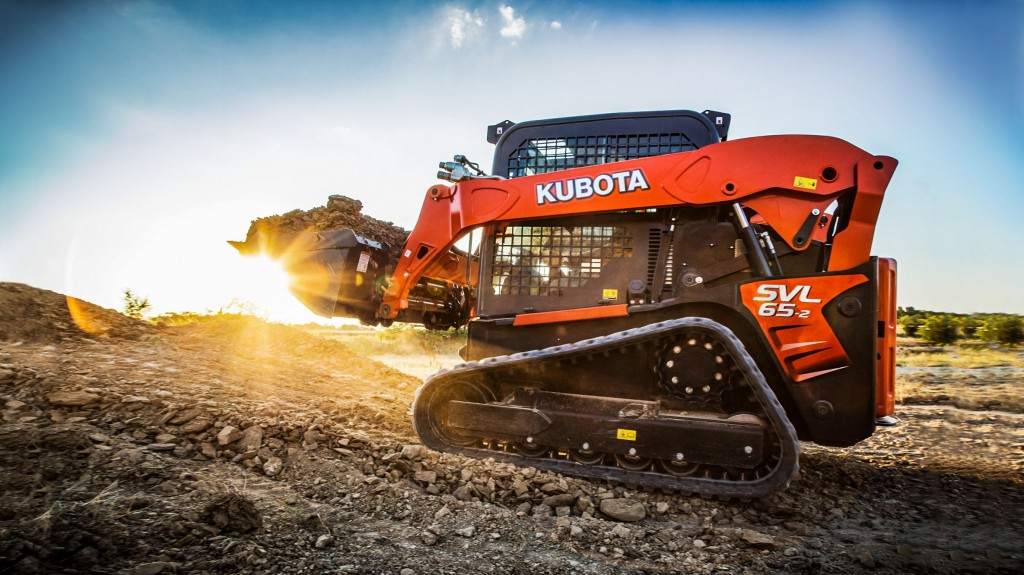 """""""With the latest SVL65-2, Kubota carries on with its reputation for quality, comfort and performance, making it an ideal choice for landscapers, rental companies and small contractors."""""""