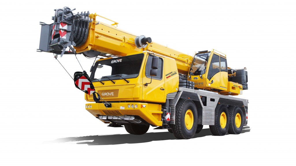 The new GMK3060L features a 157.5 ft (48 m) boom and significantly stronger load charts. It will be available in both Tier 3/ Euromot III and Tier 4 Final/ Euromot V engine emission standards.