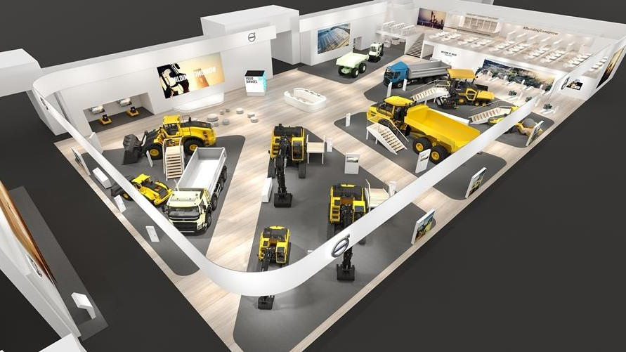 Visitors to this year's bauma 2019 exhibition in Munich, Germany, will be given a glimpse into the technological future as Volvo Construction Equipment (Volvo CE) looks at Building Tomorrow, showcasing its latest machines and integrated services.