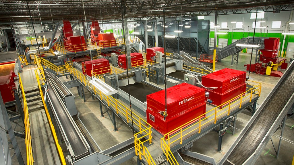 CarbonLITE's new Lehigh Valley, Pennsylvania-area plant will produce 80 million pounds of rPET pellets per year. BHS also provided CarbonLITE's Dallas, Texas front-end system (shown above).