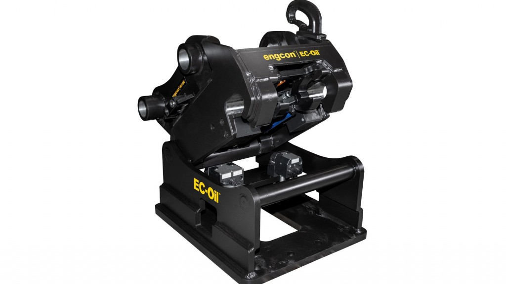 The new product, dubbed EC-Oil 80, is an automatic hydraulic connector suitable for the Q-Safe 80 quick hitch for excavators up to 40 tonnes and for large, high-flow tools.
