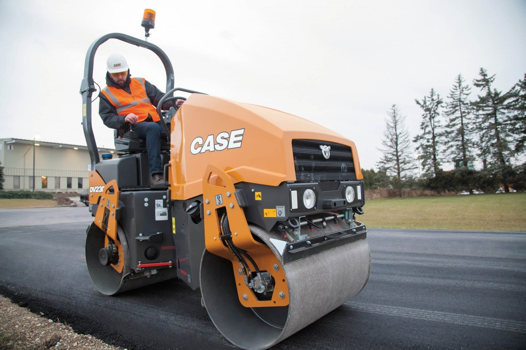 CASE Construction Equipment - DV23D Tandem Asphalt Rollers