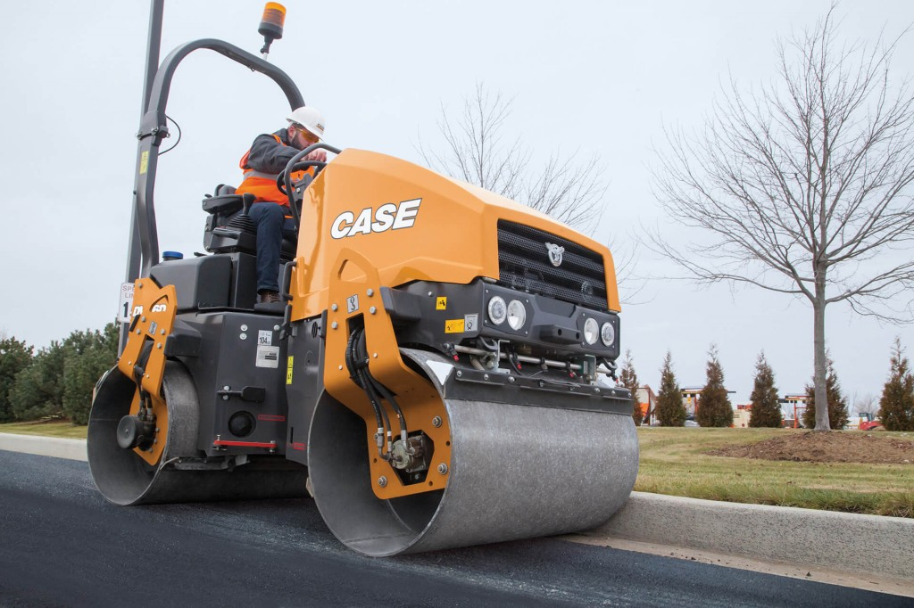 CASE Construction Equipment - DV26D Tandem Asphalt Rollers