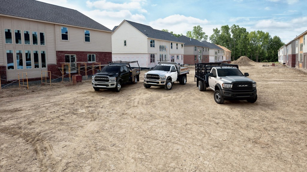 While keeping true to the work truck mission, Ram Chassis Cab designers worked closely with engineering to give Ram's line of halo-capability trucks an optional level of comfort with the new Limited model for those customers who have an enthusiast's passion and want a fitting truck to handle the weight.