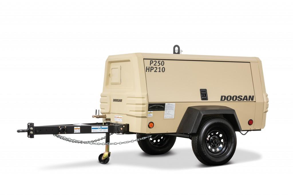 Doosan Portable Power - P250/HP210 Compressors