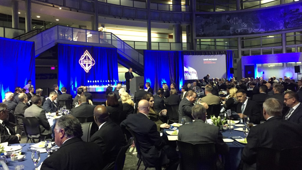 Navistar awards top suppliers with Diamond Supplier status